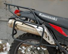 Багажні системи,бічні межі, захисні дуги для мотоциклів