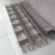 Cable channels, telescopic protection, chip conveyors