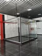 ELITSKLO | Glass railings. The glass partitions. Toughened glass. BAA