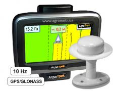GPS-navigator for the Agrotrek tractor