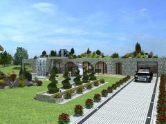 Озеленение и благоустройство территории от дизайн студии Р. M