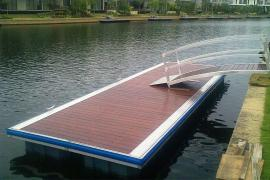 Pontoons,marinas,walkways,platforms on the water,boat Parking