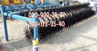 Rotary harrow hoe with grip 4,2-6-8 m.-BR-4,2, BR-6, BR