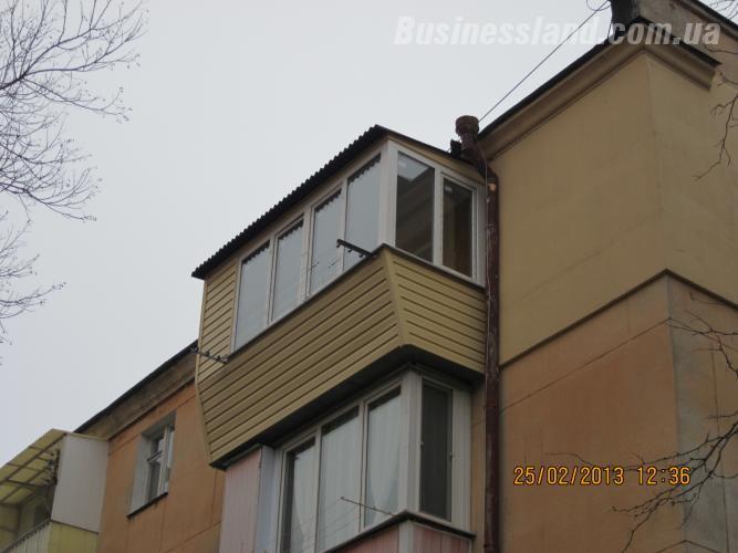 Розширення балкона, ремонт балкона в києві в києві (розширен.