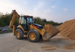 Services of a backhoe loader JCB 3CX, CAT 444E
