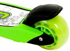 Ukan scooter Mini Kickboard Green illuminated wheels