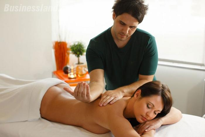 массаж фото девушка